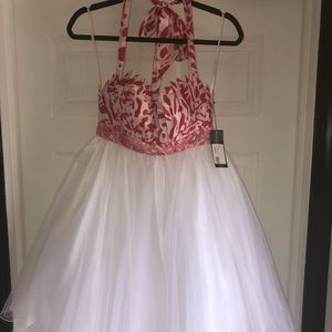 NWT mid length baby doll dress